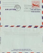US 1947 10 CENT AIR MAIL LETTER FIRST DAY COVER WASHINGTON DC FDI (a)