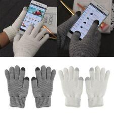Winter Women Knitted Touch Screen Wool Gloves Fingerless Mittens