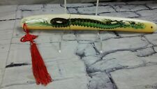 Chinese Stainless Steel Sword Dragon Samurai Katana Blade Sheath & Tassel Xmas