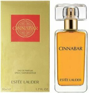 CINNABAR by Estee Lauder 1.7 OZ EAU DE PARFUM SPRAY NEW in Box for Women