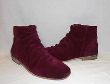 Jeffrey Campbell Women's Speir Ruched Suede Ankle Boot Retail $198 size 10