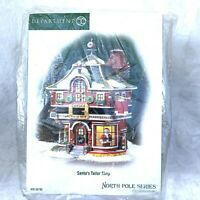 Department 56 North Pole Santa's Tailor Shop Retired #56.56793 NEW IN BOX