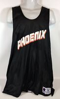 Vintage Champion Phoenix Suns Reversible Basketball Jersey  Black White Size XXL