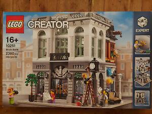 LEGO® -10251- Creator Expert Steine Bank - Brick Bank Modular Buildings Neu&OVP
