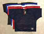 BIKE Athletic Youth S/M Mesh Practice Football Jersey Black Blue White Red Navy