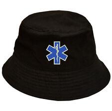 100% Cotton Military Bucket Cap Hat EMS EMT Emergency Medical Services Paramedic