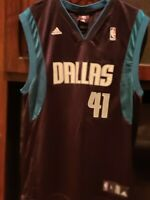 Adidas NBA Dallas Mavericks DIRK NOWITZKI #41 NBA Jersey size large