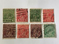 Australia postage stamps lot of (8) used