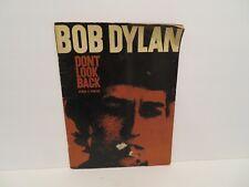 "BOB DYLAN ""Don't Look Back"" Songs & Photos SONG BOOK/SHEET MUSIC 1967-68"