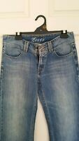 Levi Women's Blue wide leg jeans Size 12