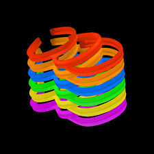 "1200 8"" Glow Stick Bracelets Assorted TWISTER WHOLESALE"