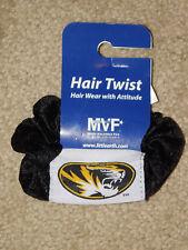 MISSOURI TIGERS PONY TAIL / HAIR TWIST (New)