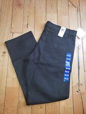 NWT Men's 010 Black CALVIN KLEIN JEANS Straight Leg Pants Size 32X30