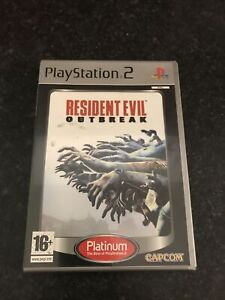 Sony Playstation 2 - Resident Evil Outbreak - W/ Instructions - Good Condition