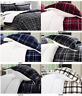 3-Piece Plaid Sherpa Premium Reversible Comforter Set Micro-suede All-Comfort™