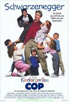KINDERGARTEN COP MOVIE POSTER Original DS 27x40 ARNOLD SCHWARZENEGGER