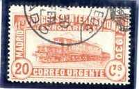 Sellos de España 1930 nº 482 XI Congreso Internacional Ferrocarriles matasellado