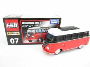 Takara Tomy Tomica Premium 07 Volkswagen Type II Scale 1/65  Diecast Toy Car