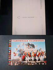 CARTOLINA CARNEVALE VIAREGGIO CARRO ALLEGORICO