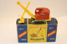 Matchbox 4 Major Pack Ruston Bucyrus Digger in 99% mint with near mint box