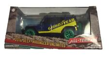 Greenlight 1:43 2016 Jeep Wrangler Goodyear w/ Roof Rack Green Machine