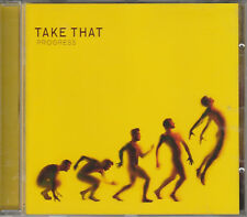 2010 -TAKE THAT - PROGRESS CD ALBUM
