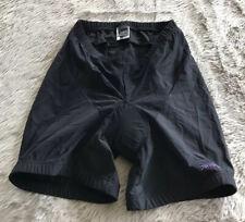 Vintage Patagonia Solid Black Padded Bike Bicycle Shorts Women's L