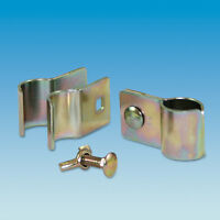 MD496 Pack Of 2 W4 Butterfly Pole End Clamp