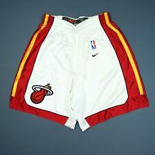 100% Authentic Miami Heat Vintage Nike Shorts Size 36 M L Mens