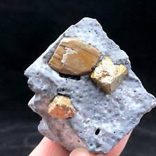 Natural Chalcopyrite Mineral Specimens Teaching Equipment Healing 101g 177