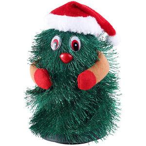 """infactory Singender & tanzender Weihnachtsbaum """"Little Swinging Xmas Tree"""", 15cm"""