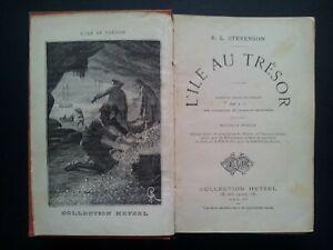 L' Ile au Trésor  R.L. Stevenson Hetzel  Les Mondes connus et Inconnus Hachette