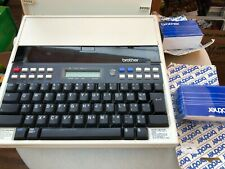 vintage Brother EP45 Typewriter with box and extra cartridges