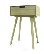 Side Drawer Table - Bedroom - Bed Side / Lounge -Natural - Home Decor Furniture