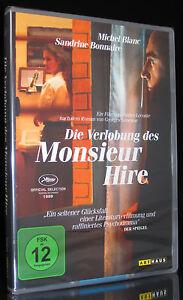 DVD DIE VERLOBUNG DES MONSIEUR HIRE - Nach dem Roman von GEORGES SIMENON * NEU *