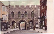 Postcard Southampton The Bargate FGO Stuart Postmark Southampton 1906 M Stride