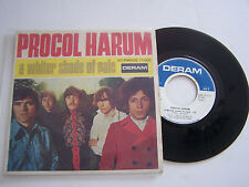 EP 4 TITRES VINYLE 45 T PROCOL HARUM , A WHITER SHADE OF PALE  VG + / VG +.