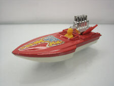 Diecast Matchbox Superfast Seafire Boat No. 5 Red Good Condition