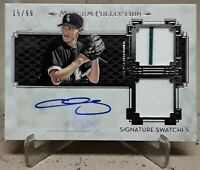 2014 Topps Museum CHRIS SALE Auto Dual Relics Gold /99