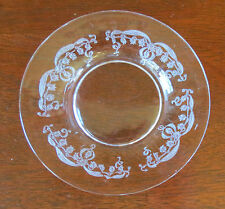 """Fostoria Lily of the Valley Clear 5 3/8"""" Plate(s)"""