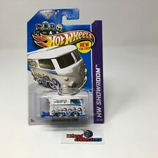 #2  Volkswagen Kool Kombi #169 * WHITE * 2013 Hot Wheels * WE2