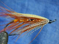 Classic flies for Atlantic salmon fly fishing - Spey fly pattern Gold Riach #1/0
