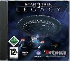 Star Trek Legacy PC successeur Tchékov Command 3 Deutsche Version complète