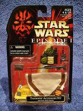 "RARE NEW Star Wars ""Tatooine Accessory Kit"" Episode 1"