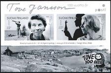 Finland 2014 Tove Jansson, Moomin, 100 Years Anniversery Sheet MNH