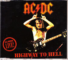 CD SINGLE AC DC highway to hell GERMANY 1992 3-TRACKS LIVE