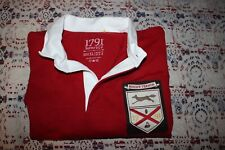 Rare and amazing 1791 Supply & Co Mens Long Sleeve Rugby Shirt XL Mt Vernon USA