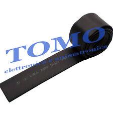 Guaina termorestringente 12,7mm di colore nero 1m