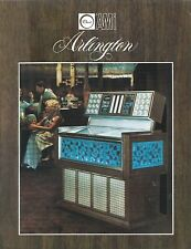 "Volantino Pubblicitario (Sheet) Juke Box ""Arlington""- Rowe AMI  - 1970 circa"