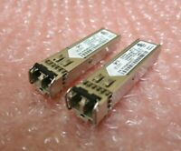 2 x 3COM 3CSFP91 1000BASE-SX SFP 850nm Optical Transceiver GBIC
